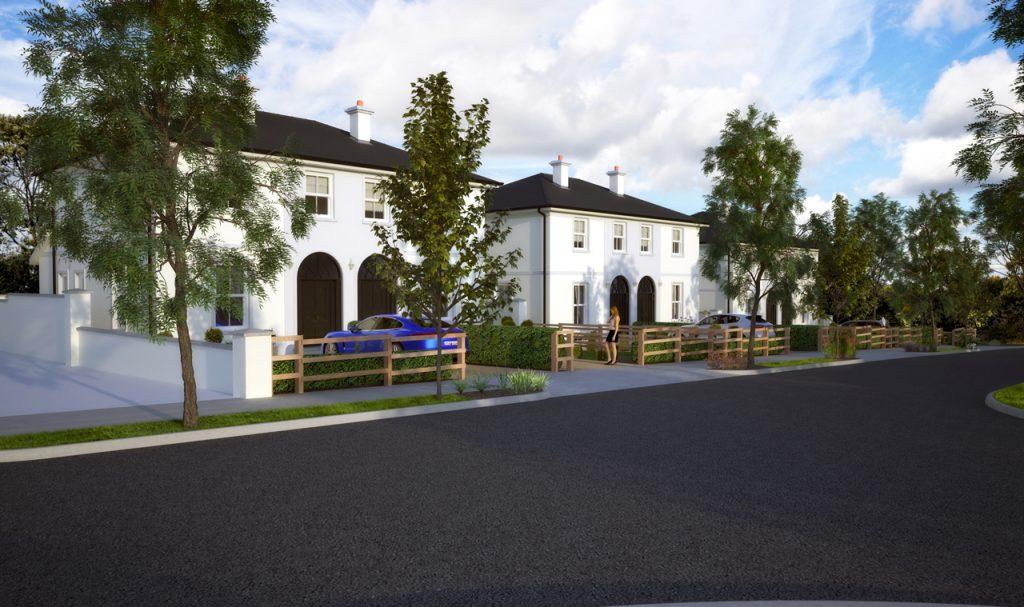 Ballintine Park, new semi-detached houses in Allen, Naas Kildare