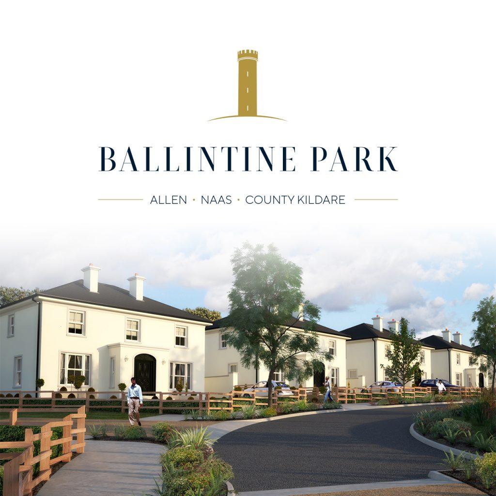 Ballintine Park new homes in Allen Kildare
