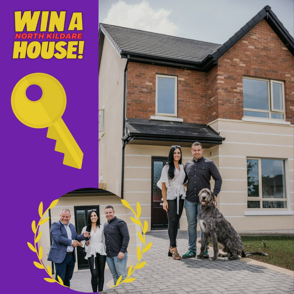 Win a North Kildare House, Branded